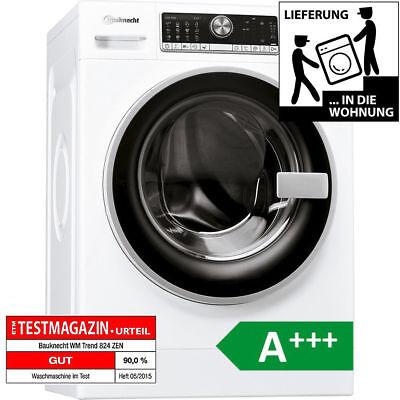 BAUKNECHT 8kg Waschmaschine WM Trend 824ZEN Frontlader A+++ 1400 U/min FREI HAUS