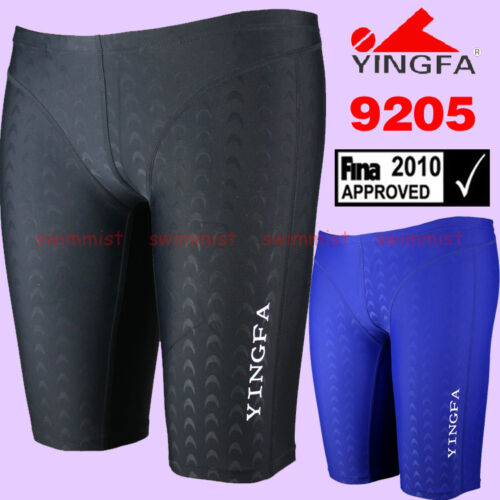 NWT YINGFA 9205 SHARKSKIN COMPETITION RACING JAMMER S,M,L,XL,XXL FINA APPROVED