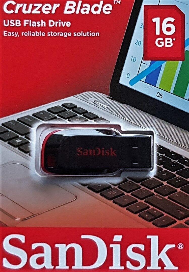 1x 16GB USB Stick