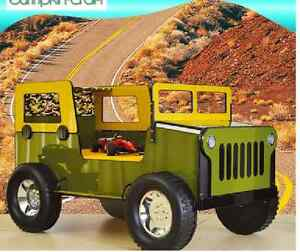 Image Is Loading Boys Car Bed Commander Jeep Bed Truck Bed