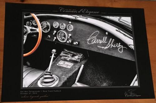 Carol Shelby Vintage Car Museum PrintPoster Man Cave
