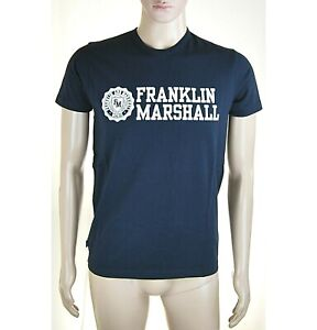En Herbe T-shirt Maglietta Uomo Franklin & Marshall Made In Italy I663 Tg Xs S Belle Qualité
