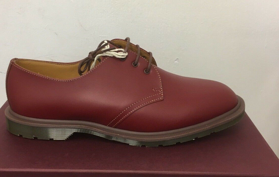 DR. MARTENS STEED OXBLOOD QUILON   LEATHER UK  Schuhe SIZE UK LEATHER 4 f9f444