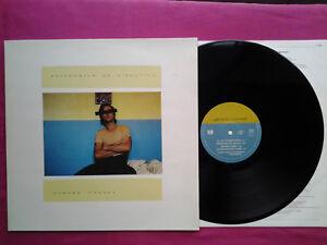 Original-Vinyl-LP-33T-Gerard-Manset-Prisonnier-De-L-039-Inutile-FR-1985-EX