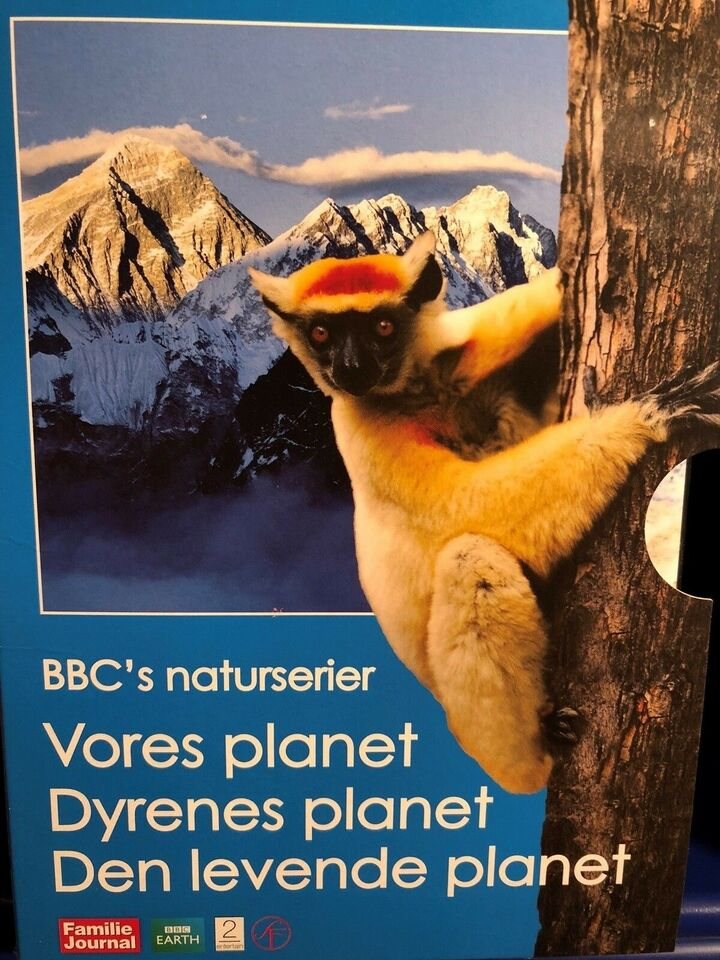 BBC naturserier , instruktør BBC, DVD