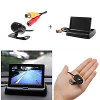 "Car SUV Reverse Rear View HD Camera+ 4.3"" Foldable TFT LCD Color Screen Monitor"