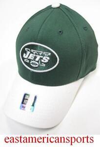 d65c255854b New York Jets NFL Reebok FITMAX 70 Solid Green Sideline Hat Cap ...