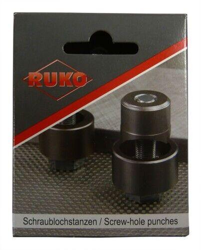 Perforadora de Tornillo Punzonador Metal Ruko 12,7-63,5mm Todas Tallas