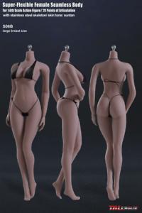 Tbleague Phicen S06b 1/6 flexible poupée grand corps sans soudure femme corps bronzé 691201500378