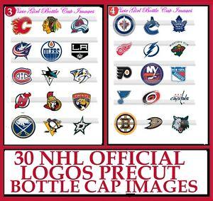 """30 Precut 1/"""" Candy Cane Bottle cap Images Set 1"""