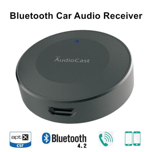 Car Audio Receiver Bluetooth 4.2 AptX 3.5Aux Hands Free Car Kit Audiocast BA10