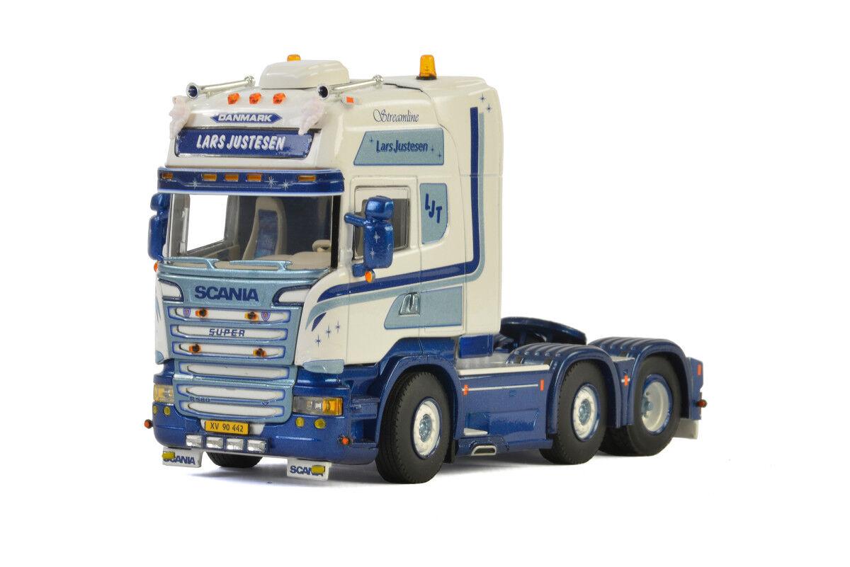 WSI Collectibles Scania R Streamline Topline 4X2 CAB unità Lars justesen 01-2266