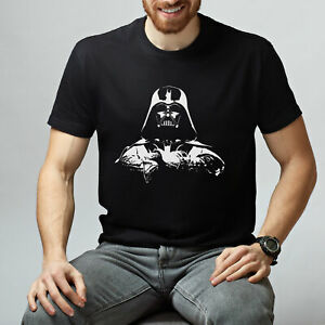 Darth-Vader-T-Shirt-Stampata-Manica-Corta-T-shirt-Star-Wars-Regalo-Unico-T-shirt