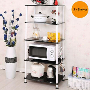 Kitchen Bathroom Laundry Storage Rack Shelf Cupboard