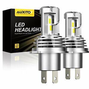 2X AUXITO H4 9003 LED Headlight Bulbs Kit Hi//low beams Bulb 6500K 24000LM M3 EOA