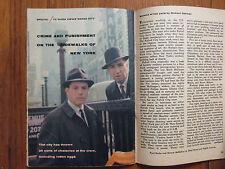 1961 TV Guide (NAKED CITY/PAUL BURKE/HORACE McMAHON/SHARON HUGUENY/LISABETH HUSH