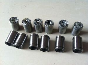 12PCS-LM8UU-8x15x24mm-Linear-Ball-Bearing-For-3D-Printer-Reprap-Prusa-DIY-CNC