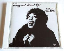SARAH VAUGHAN Crazy And Mixed Up JAPAN CD 1991 VICJ-41045 Roland Hanna Joe Pass