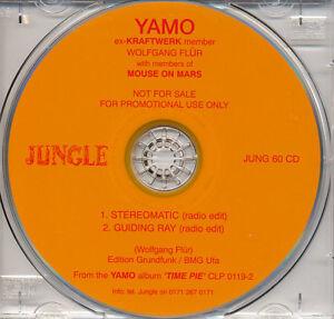 YAMO-Kraftwerk-Mouse-On-Mars-Wolfgang-Flur-039-Stereomatic-039-rare-promo-only-CD