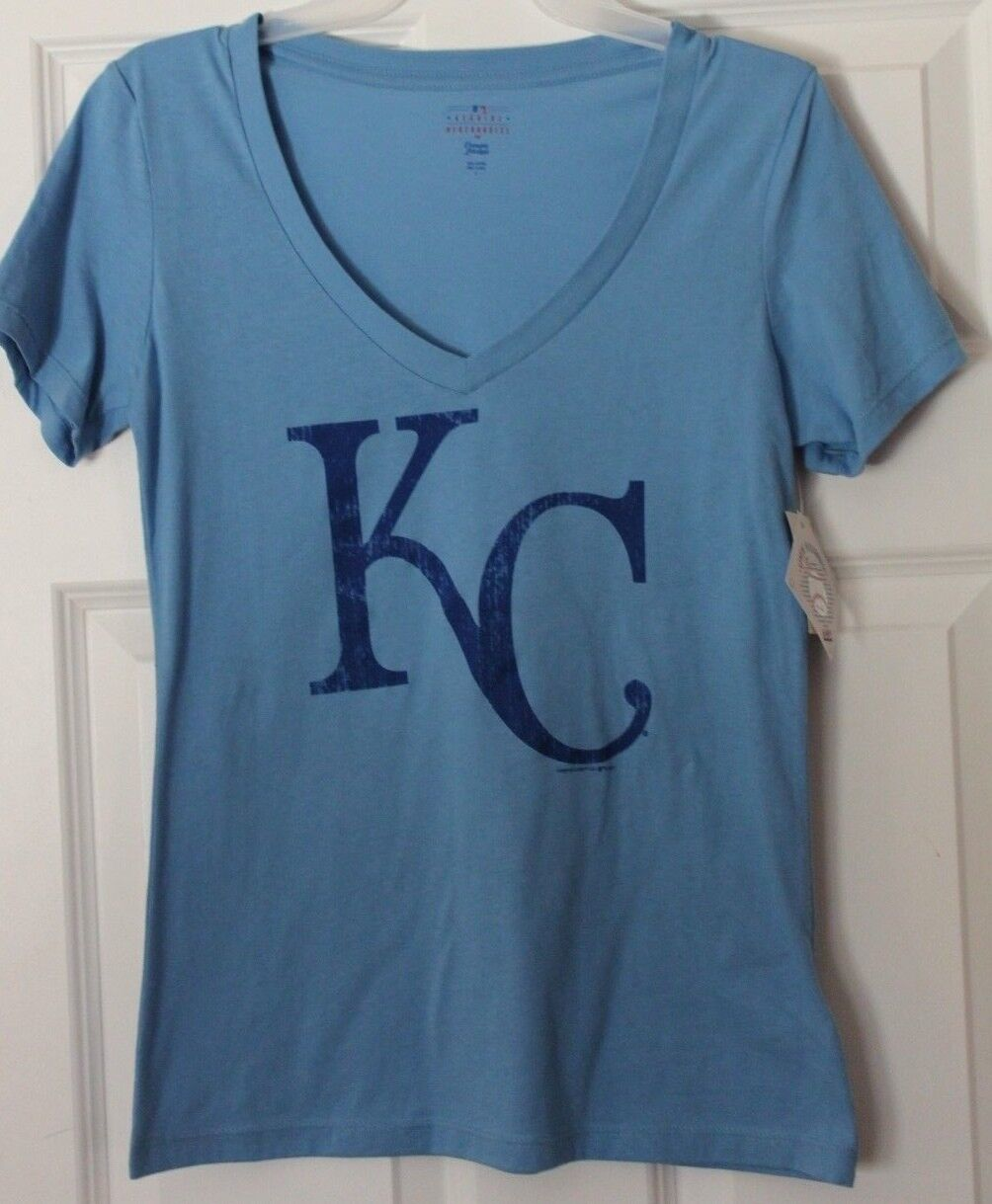 Kansas City bluee Women's T-Shirt Size L