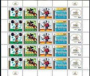 Wholesale-Lot-TURKMENISTAN-1992-SUMMER-OLYMPICS-20-SHEETLETS