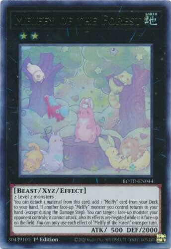 - Rise of the Duelist NM Yu-Gi-Oh! Melffy of the Forest ROTD-EN044