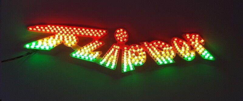 Enseigne lumineuse pour Flipper Faller 140439 H0 Kirmes beleuchtung