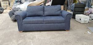 Marvelous Details About John Lewis Sacha Sofa Bed Blue Grey Gmtry Best Dining Table And Chair Ideas Images Gmtryco