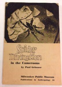 Spider-Divination-In-The-Cameroons-1964-Paul-Gebauer-PB-Milwaukee-Public-Museum