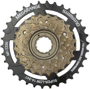 Shimano-MF-TZ30-Tourney-Bicycle-Mega-range-Multi-Freewheel-6-Speed-14-34T