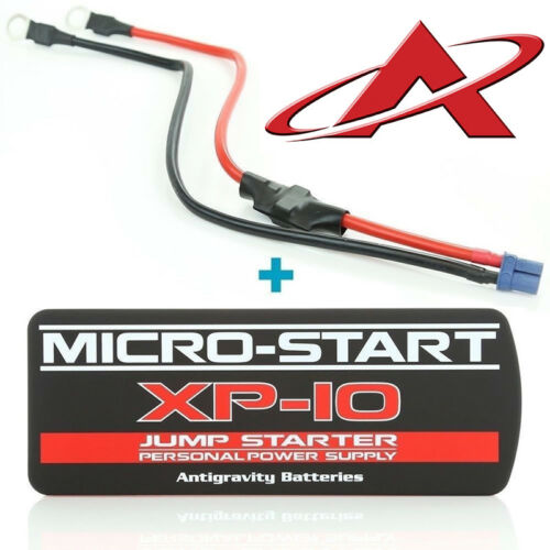 NEW Antigravity XP-10 MICRO START 600A Lithium Jump Starter + Clampless Harness