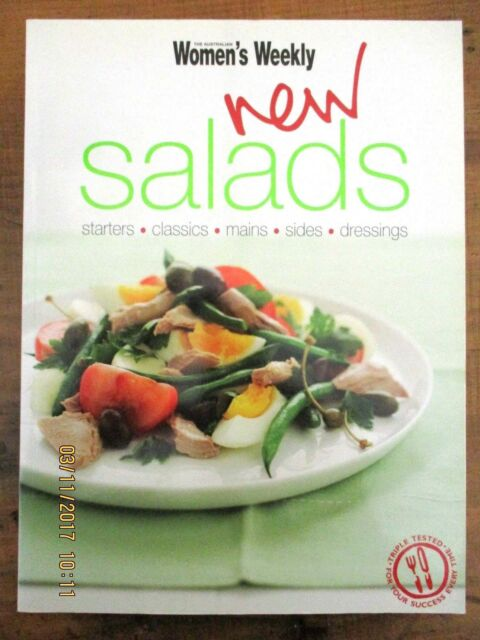 ~NEW SALADS - STARTERS, CLASSICS, MAINS by The Australian Women's Weekly - VGC~