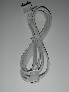 6ft-5-16-034-Spacing-2-pin-Power-Cord-for-Vintage-Roberts-Reel-to-Reel-Player