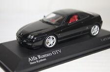Alfa Romeo GTV 2003 schwarz 1:43 Minichamps neu & OVP 400120300