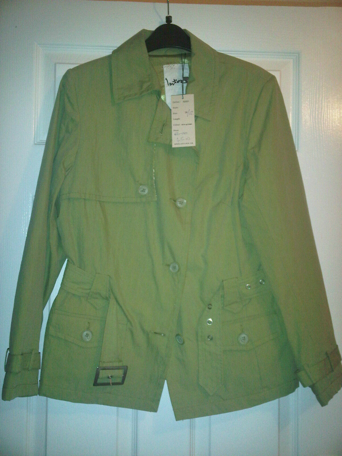 Green Mac - size 12 - new with labels
