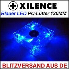 [Xilence] 120mm LED Blau/Blue Gehäuse-Lüfter/Fan →12cm Case PC Transparent