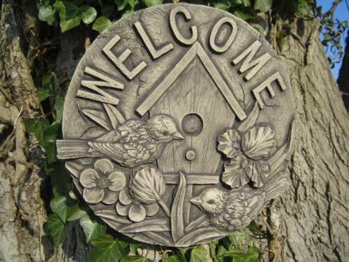 Benvenuto pietra ornamentale da giardino muro PLACCA /& LT /& ltvisit il mio negozio /& GT e GT