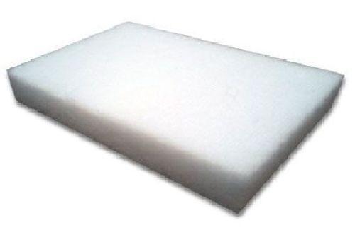 Pack of 3 Koi Garden Pond Filter Media White Fine Fleece Floss Wool Pads