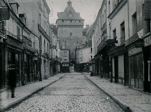LOCHES c. 1910 - Rue Commerces Indre et Loire - Div 12158 OdrIc66V-09090029-543279000