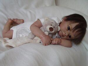 Reborn-Baby-reallife-baby-lebensechte-Babypuppe-Mareen-von-Nadines-Babys