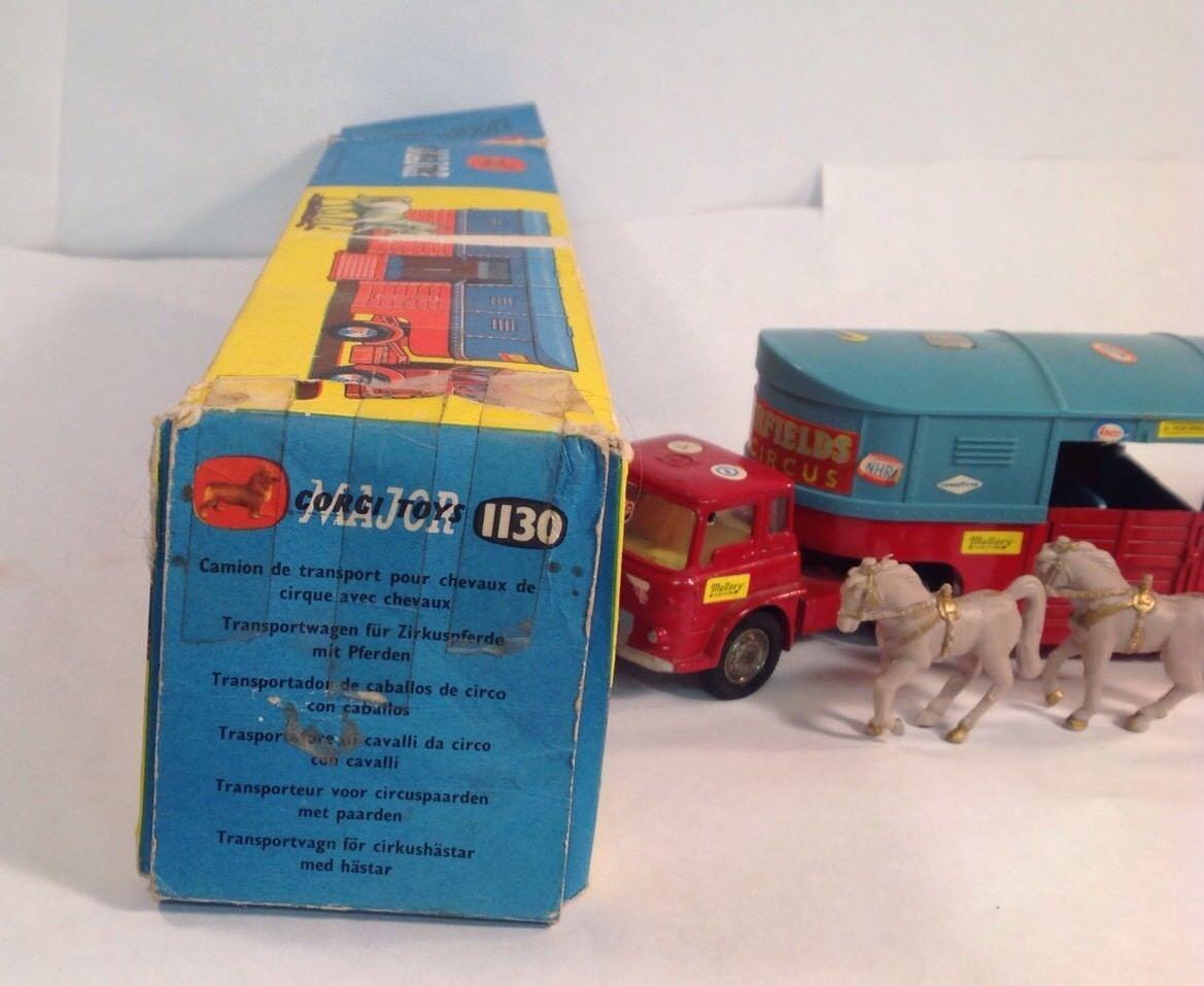Corgi transportador transportador transportador de caballo de circo f1d895