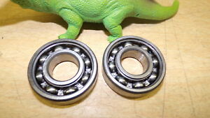 Details about NEW Bearing Suppliers Lot of 2 6204 RHP Roller Bearings *FREE  SHIPPING*