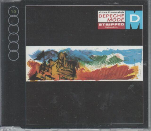 Depeche Mode  CD-MAXI   STRIPPED   / BUT NOT TONIGHT      ©  1986  / 1991