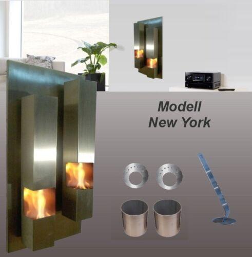 Gel-et Ethanol-Cheminée New-york//Gelkamin éthanol Cheminée Bioéthanol Fireplace BIO