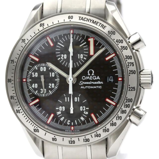 Polished OMEGA Speedmaster Racing Michael Schumacher Watch 3519.50 BF509926