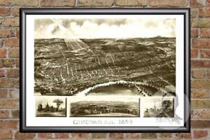 Vintage-Concord-NH-Map-1899-Historic-New-Hampshire-Art-Victorian-Industrial