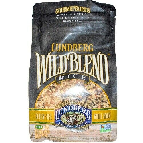 Lundberg Family Farms Wild Blend Rice 16 Ounce Pack Of 6 For Sale Online Ebay