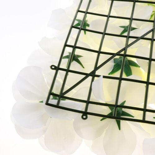 5pcs Simulation soie Rose hortensia fleur panneaux muraux Mariage Décoration