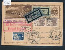 93186) Österreich, OELAG FF Wien - Konstanz 21.5.28, GA BPK Aufl. Aspern