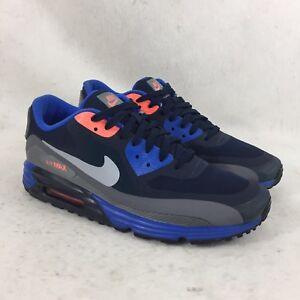 huge discount 849dd fee63 Image is loading Nike-Aix-Max-Lunar-90-Cobalt-Blue-Grey-